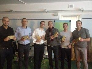 Une équipe de Microsoft joue à un Team Building de Collock