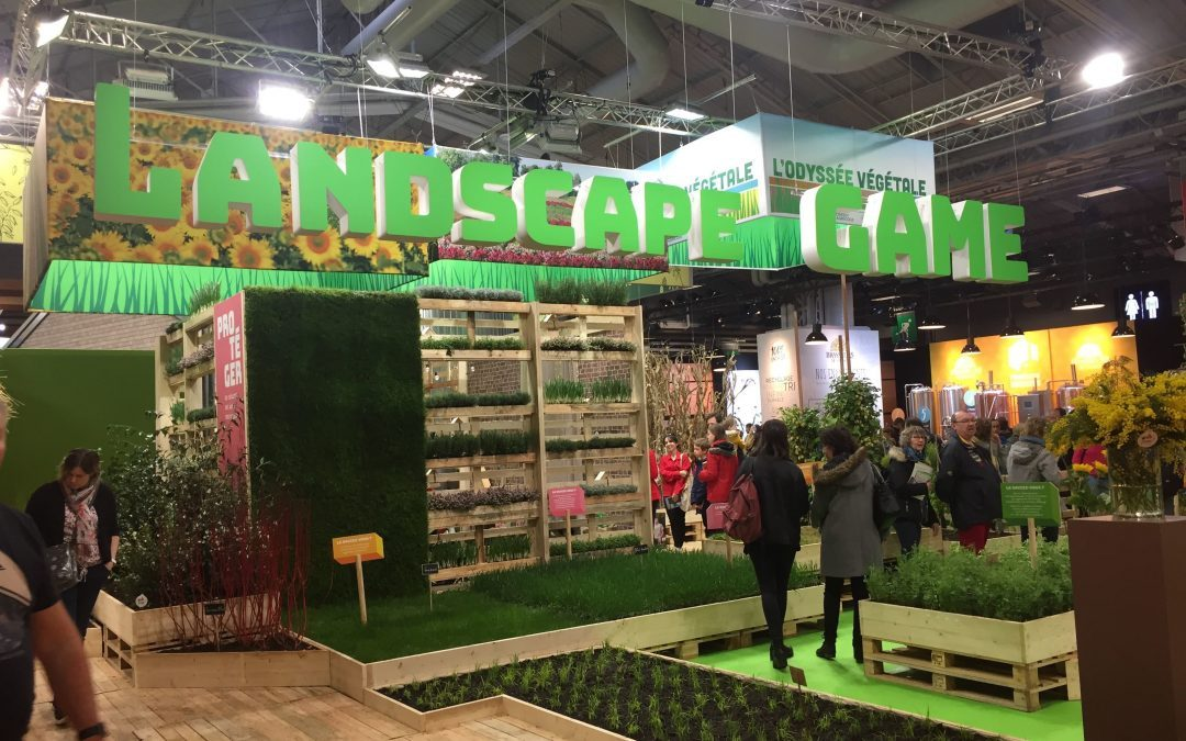 "Collock au Salon de l'Agriculture 2019 : Le ""Landscape Game"" pédagogique, collaboratif et divertissant"