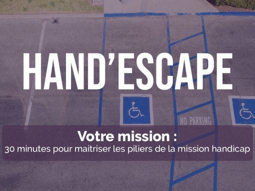 Hand'Escape : Jeu de Sensibilisation au Handicap au travail