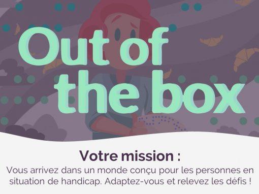 Jeu de Sensibilisation au Handicap en Entreprise : Out Of The Box