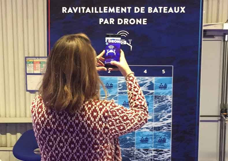Jeu pour la communication au Paris Air Lab