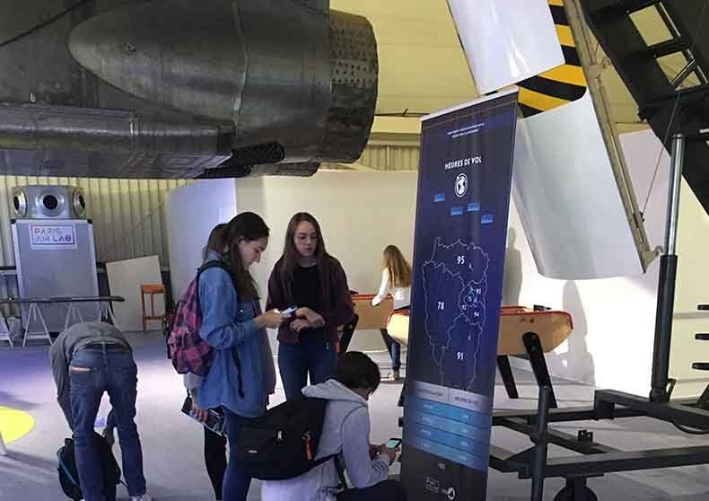 un escape game de communication pour Paris Air Lab