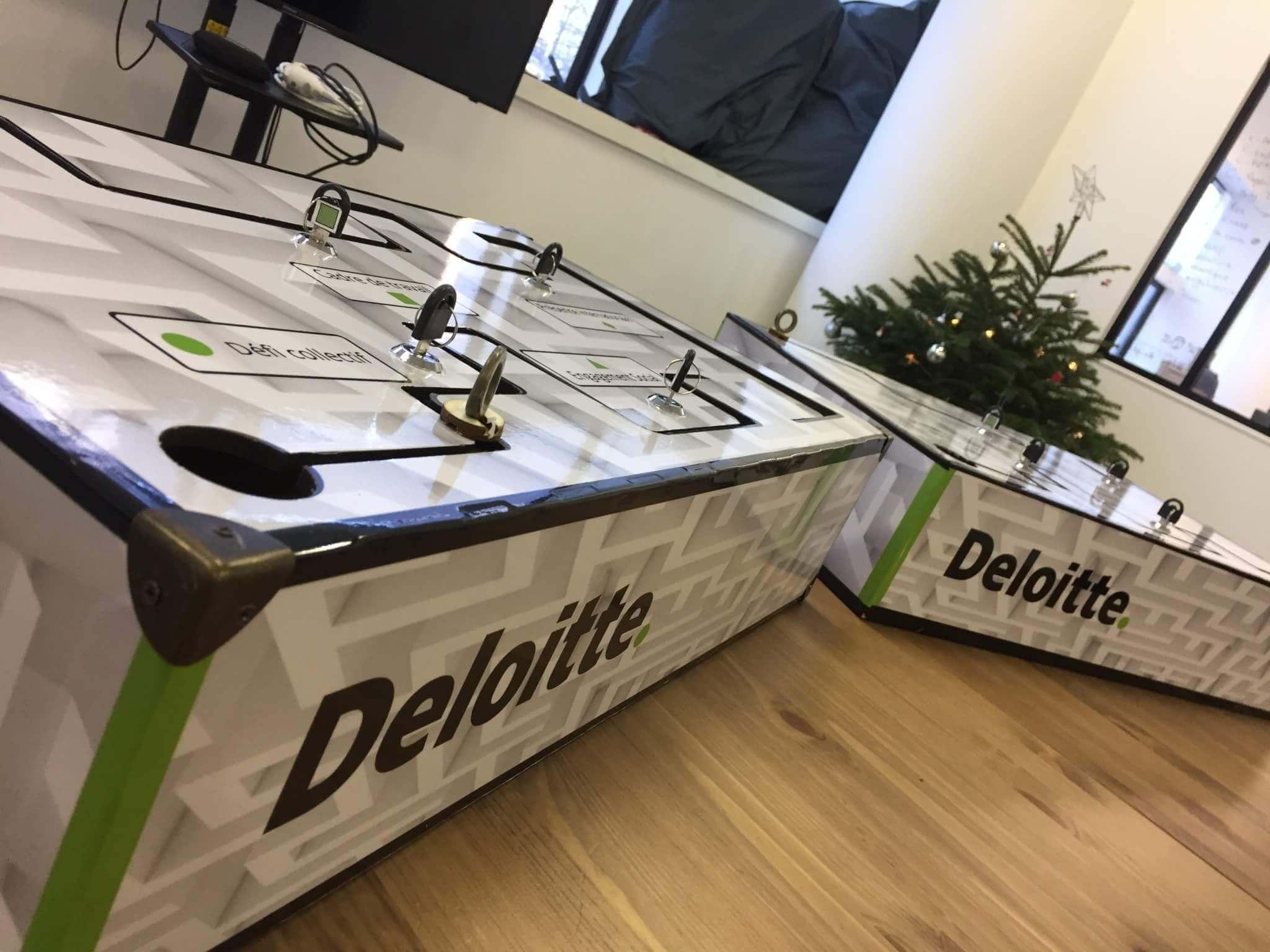 Un jeu d'évaluation pour Deloitte