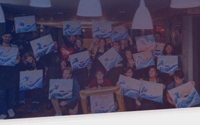L'atelier peinture comme activité de Team Building : interview de Julien Chavanne, CEO de Happy Paint