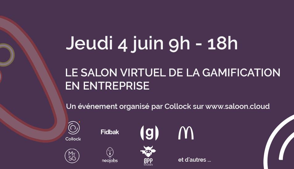 4 juin 2020 : Salon virtuel de la Gamification en Entreprise