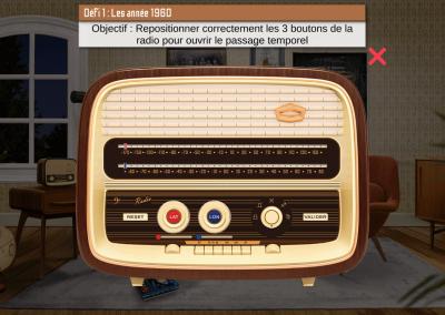 Escape Game Virtuel Error 1960