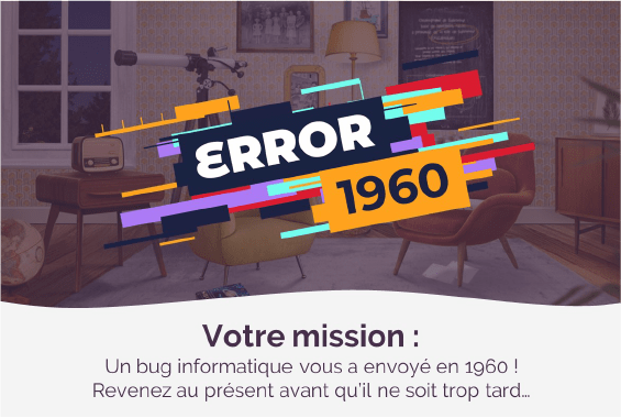 Error 1960 - Escape game digital Collock