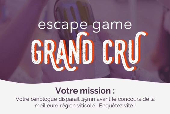 Escape Game Grand Cru : un jeu pour communiquer sur le monde viticole