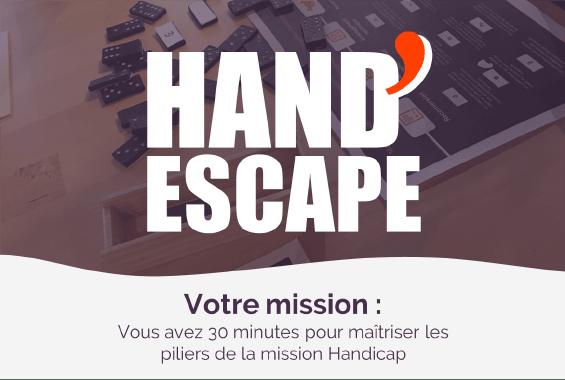 Jeu de Sensibilisation au Handicap en Entreprise : Hand'Escape