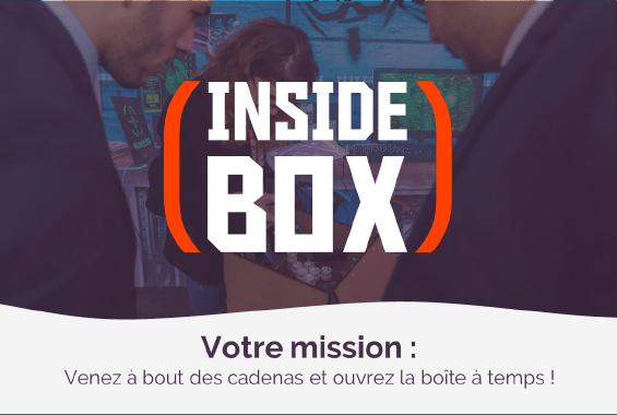 Inside Box - Escape game en kit Collock