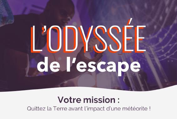 L'Odyssée de l'escape - Escape game géant Collock