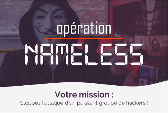 Opération Nameless - Escape game géant Collock