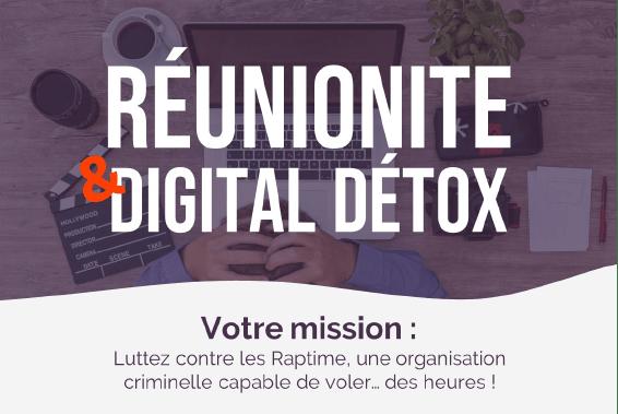 Jeu sur la prévention de la réunionite et la digital detox