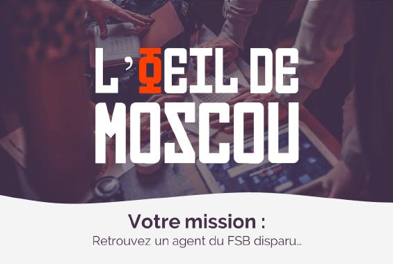 l'oeil de Moscou - Escape game en kit Collock
